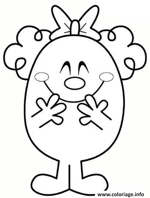 Coloriage monsieur madame clown dessin - Coloriage mr mme ...