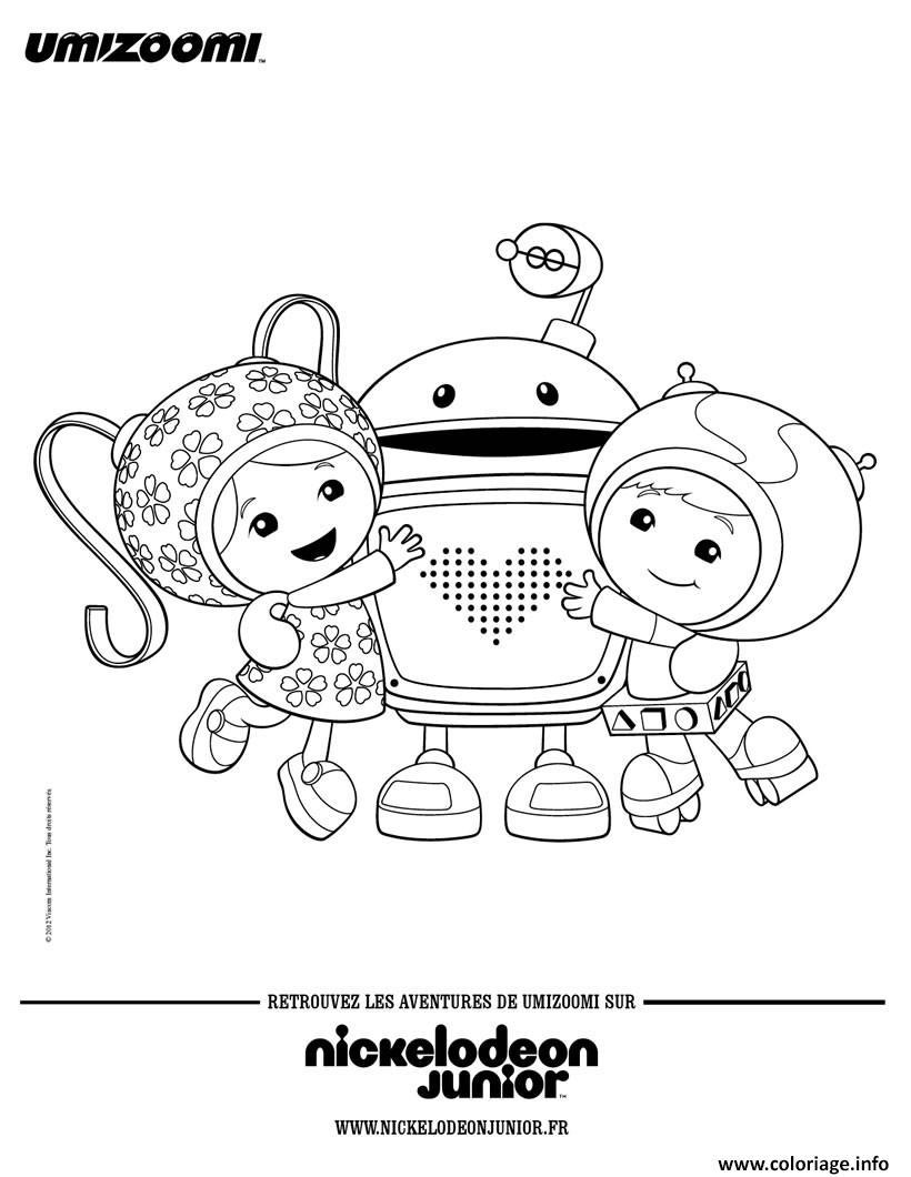 Coloriage umizoomi geo milli et bo dessin - Jeux de umizoomi ...