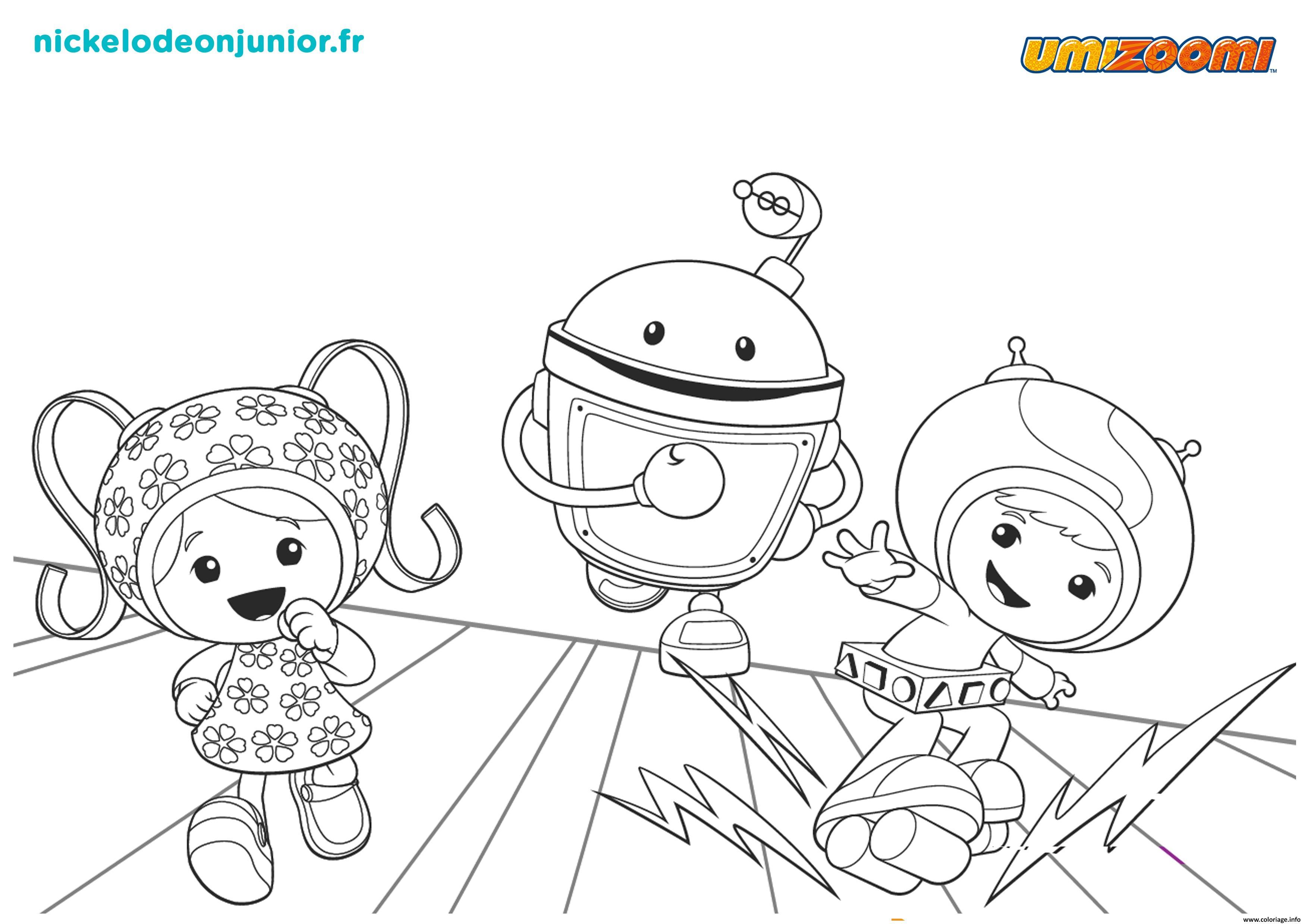 Coloriage la course umizoomi 2 dessin - Jeux de umizoomi ...