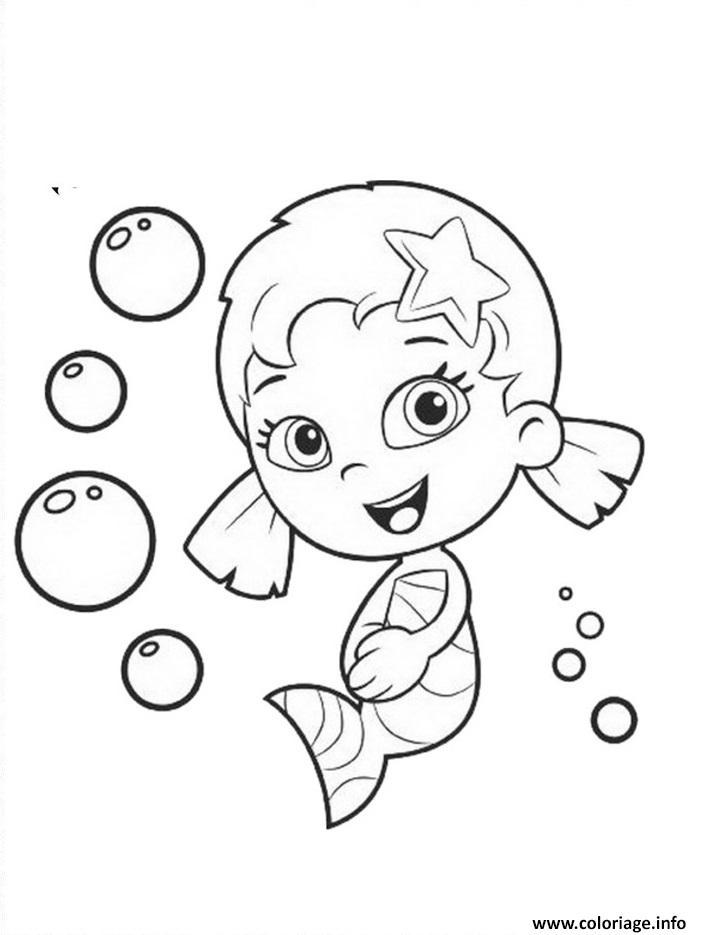 Dessin Bubble Guppies 9 Coloriage Gratuit à Imprimer