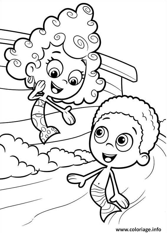 Dessin Bubble Guppies 3 Coloriage Gratuit à Imprimer