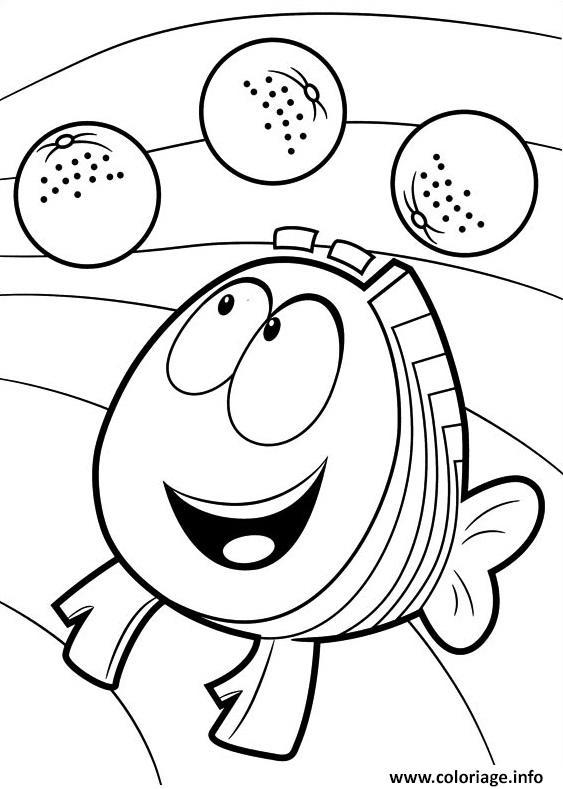 Dessin Bubble Guppies 8 Coloriage Gratuit à Imprimer