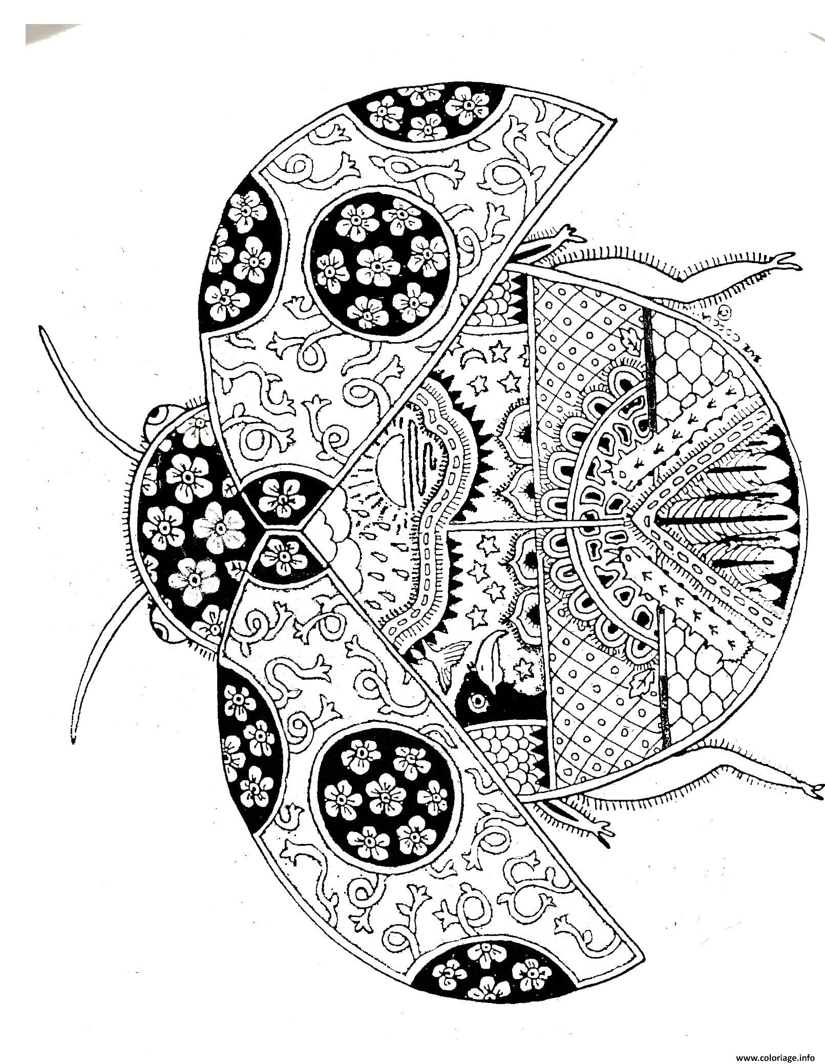 Coloriage ladybug mandala dessin - Coloriage info ...