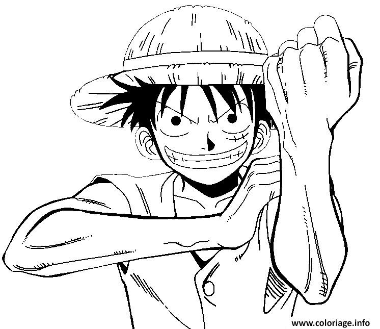 Coloriage one piece geste mechant onepiece - Coloriage one peace ...