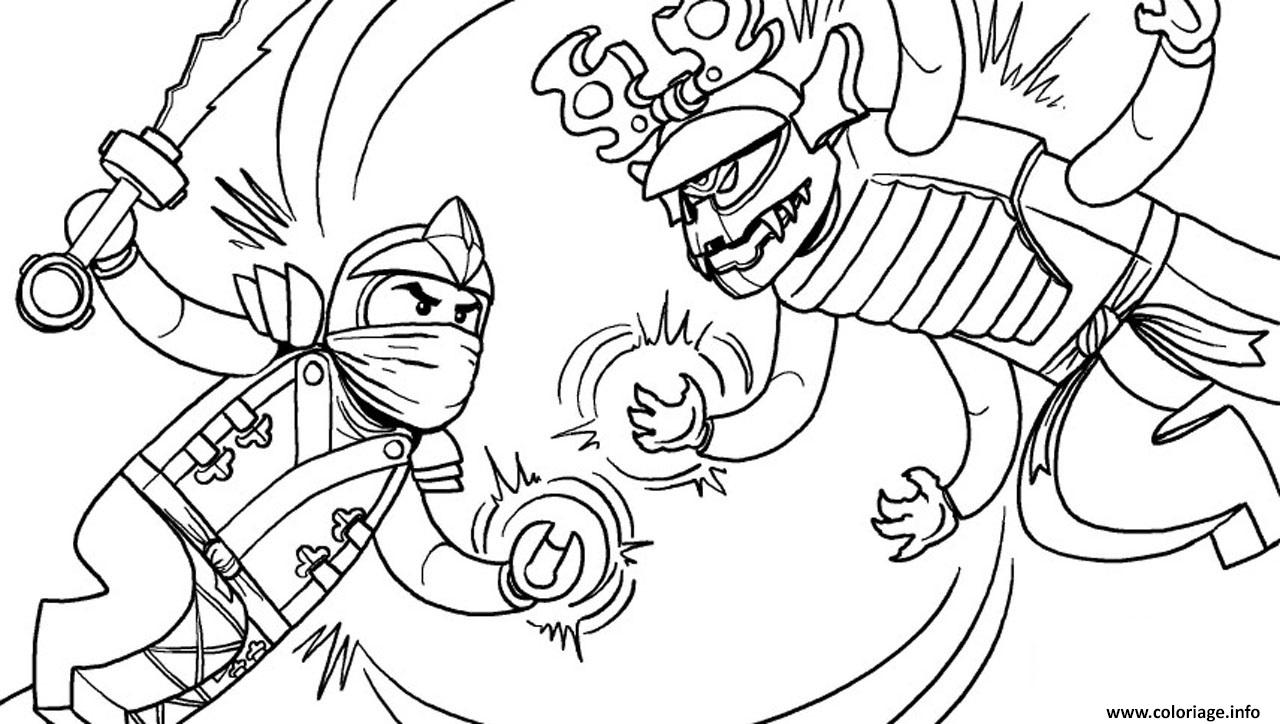 Coloriage lego ninjago green ninja vs overlord final for Ninjago green ninja coloring pages