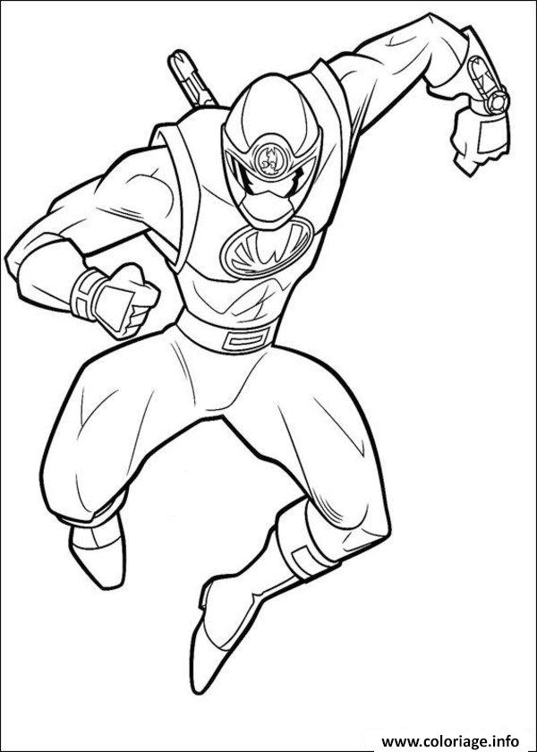 Coloriage Power Rangers S Kids Dessin à Imprimer