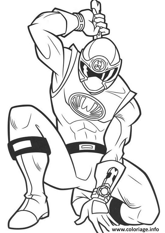 Coloriage power ranger samurai ninja dessin - Dessin power rangers ...