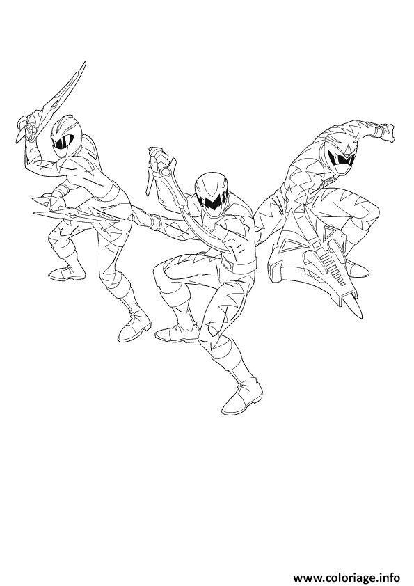 Coloriage Ninja Storm Power Rangers Jecolorie Com