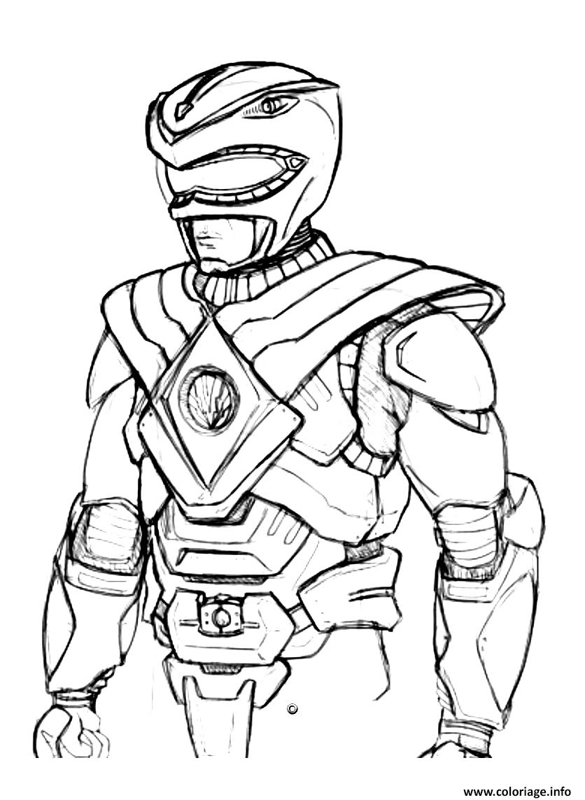 Coloriage Power Rangers Dessin Amateur Dessin