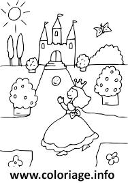 Coloriage princesse cherche son chateau dessin - Dessin chateau princesse ...