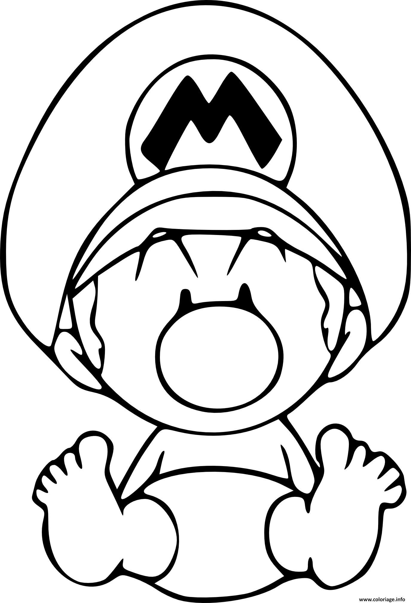Impressionnant Dessin A Colorier En Ligne Mario