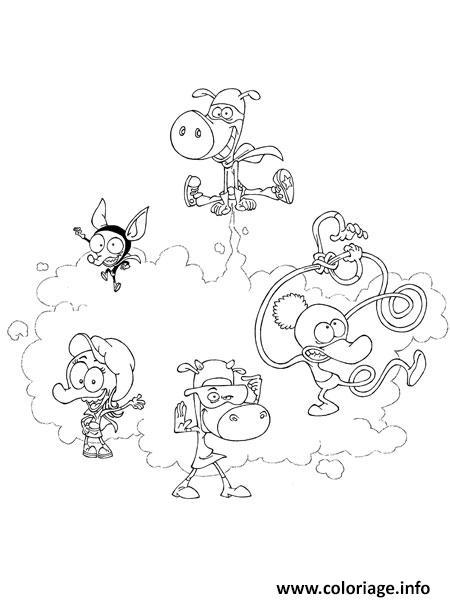Coloriage la bande des minijusticiers dessin - La bande des minijusticiers ...