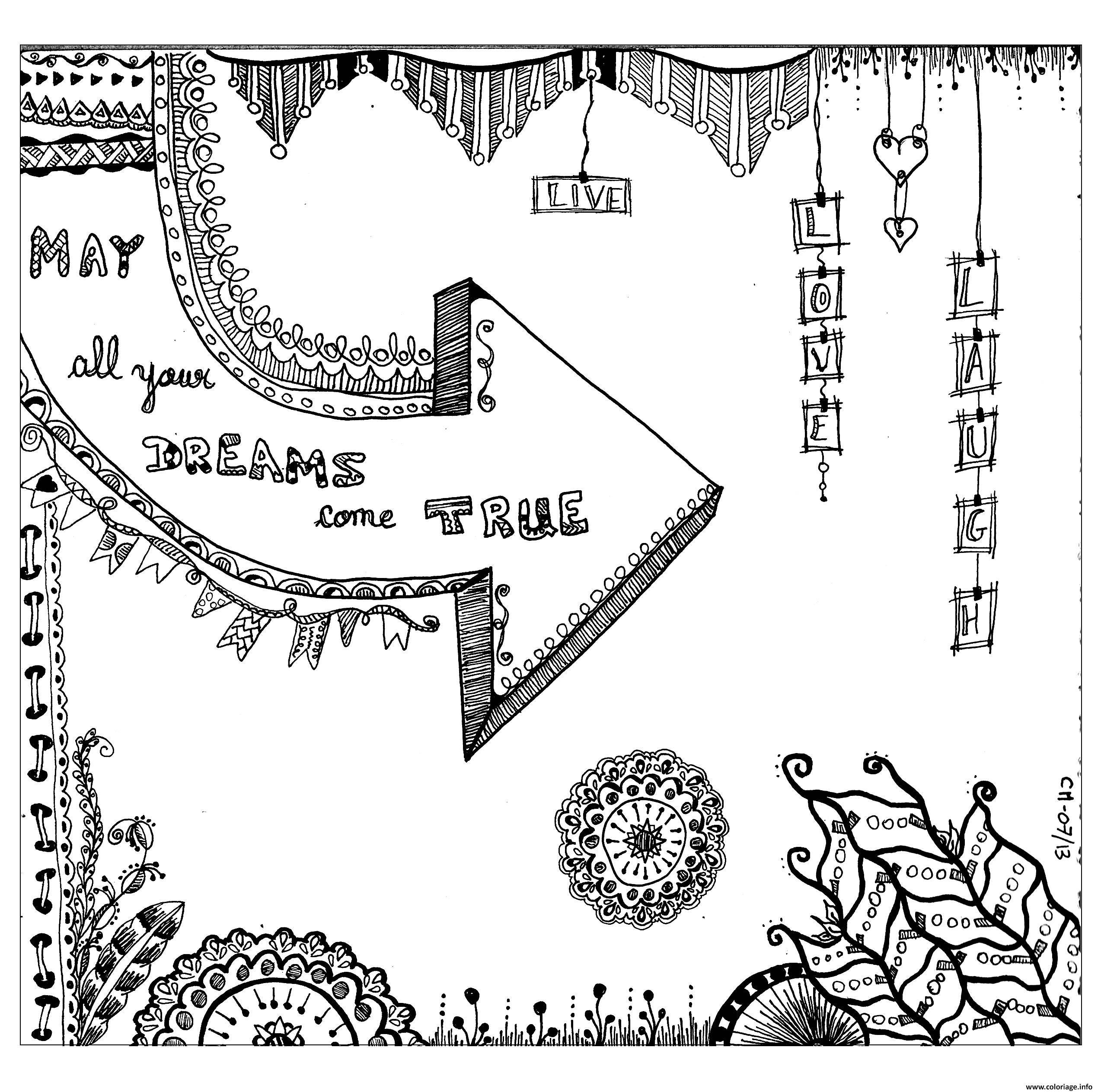 Dessin adulte zentangle by cathym 14 Coloriage Gratuit à Imprimer