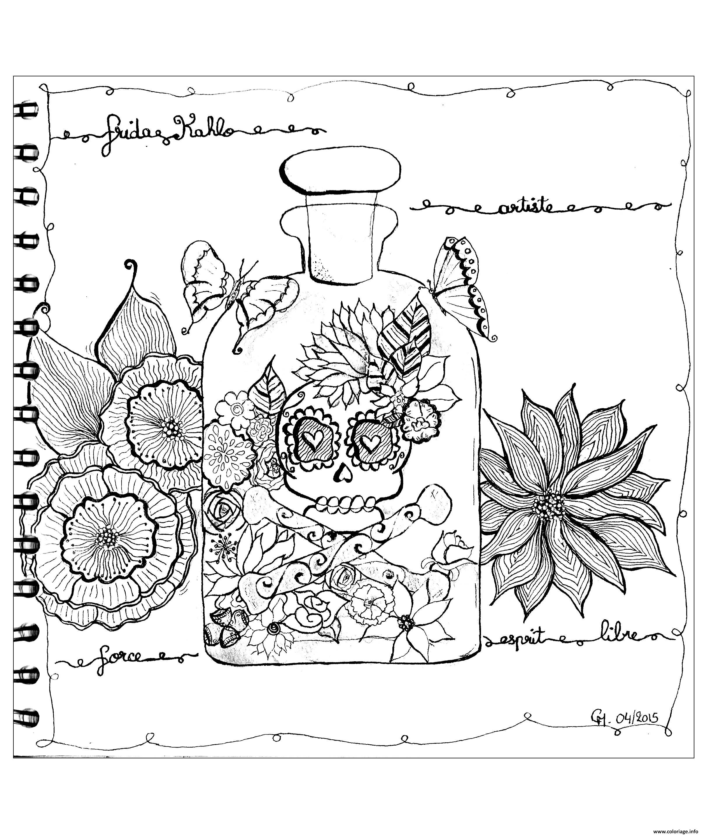 Coloriage Adulte Zentangle By Cathym 23 Dessin à Imprimer