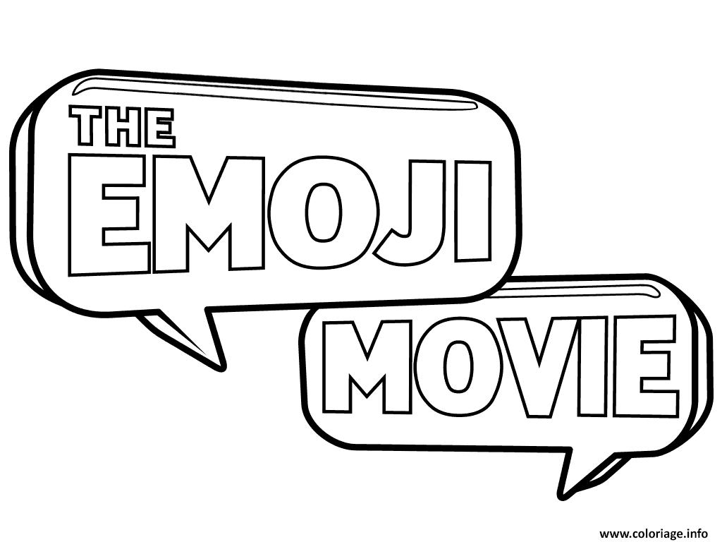 Coloriage Logo Emoji Monde Secret Des Emojis Jecolorie Com