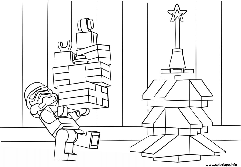 Dessin lego star wars clone christmas Coloriage Gratuit à Imprimer