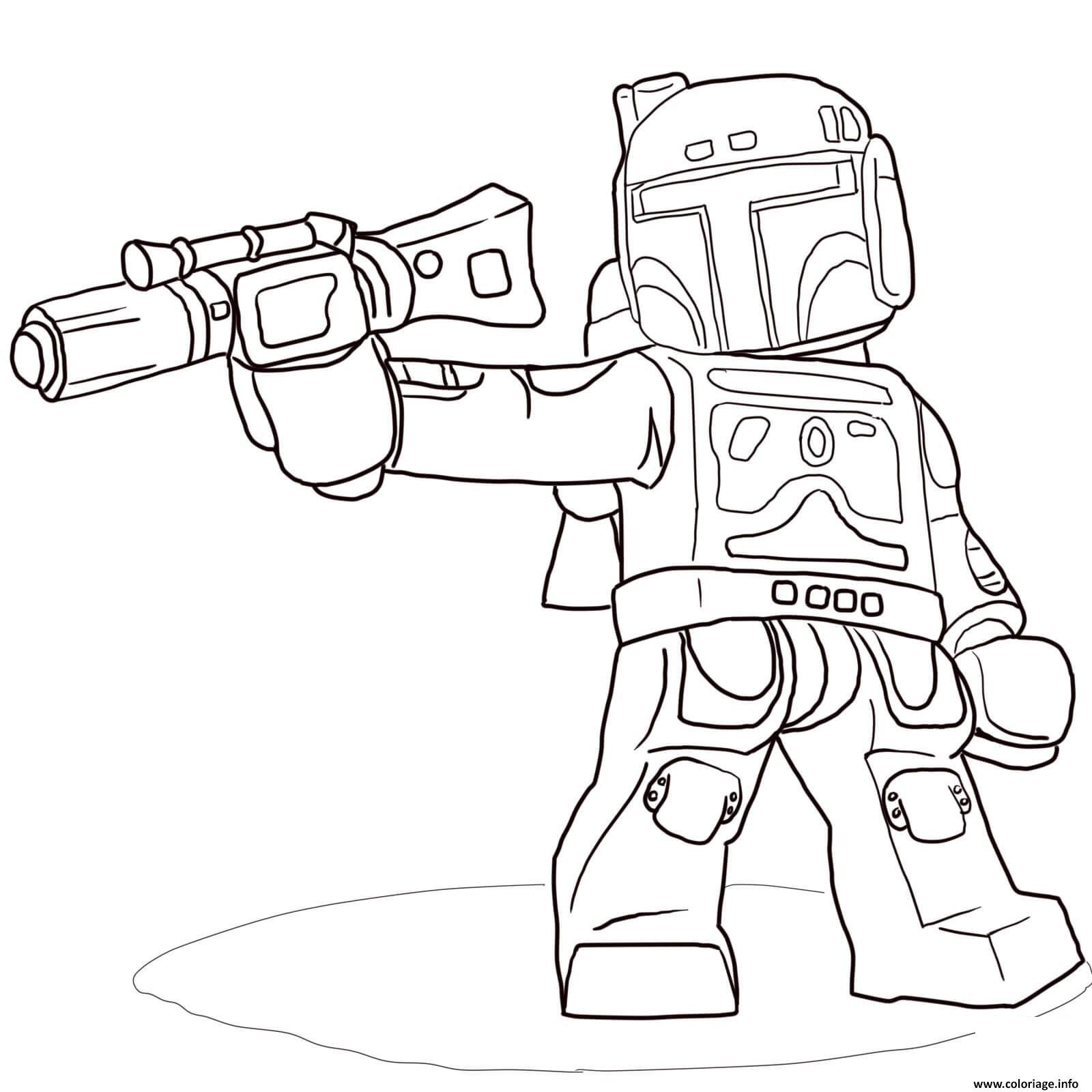 Frais Dessin A Imprimer De Star Wars Lego