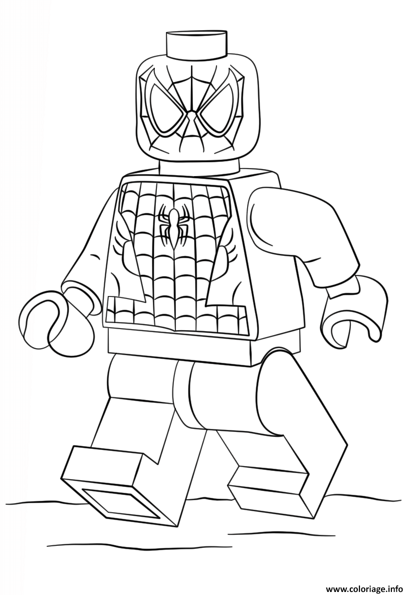 Coloriage spider man super heroes dessin - Coloriage the amazing spider man ...