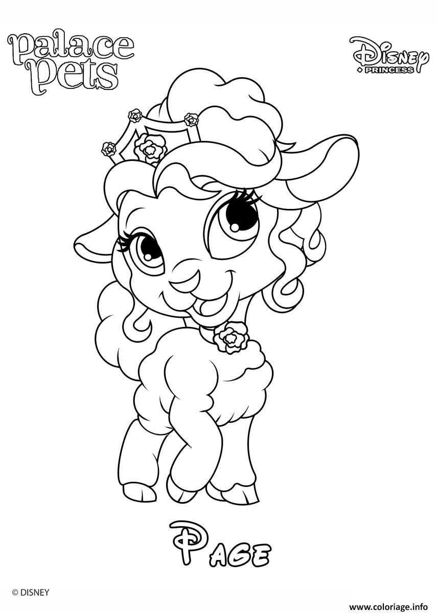 Coloriage page princess disney - JeColorie.com