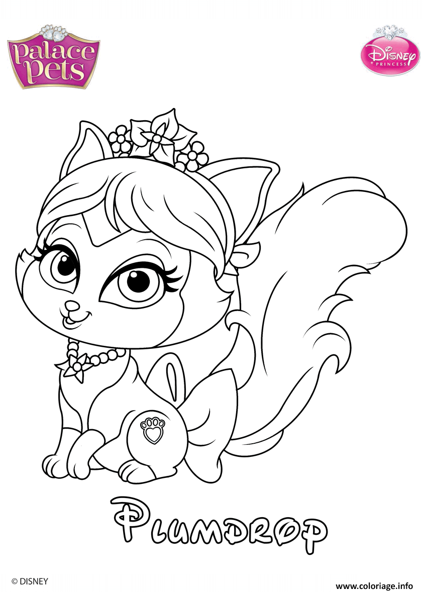 plumdrop princess disney coloriage dessin