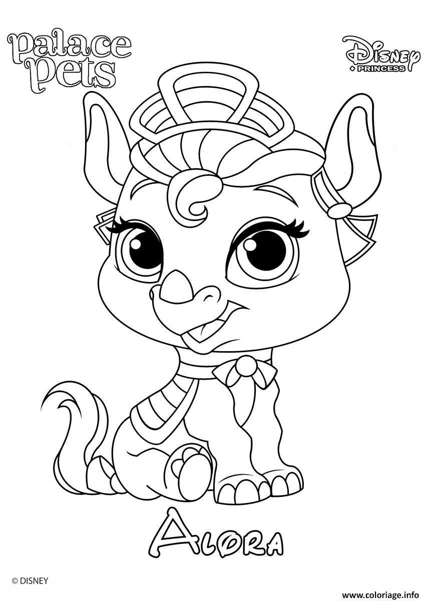 alora princess disney coloriage dessin