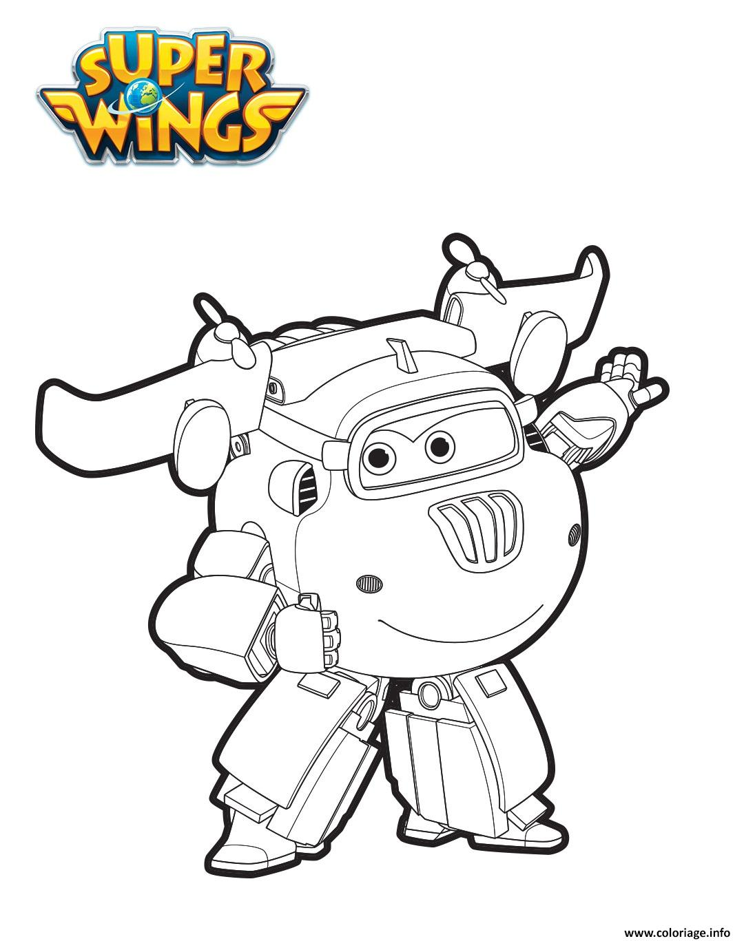 donnie en mode robot coloriage dessin