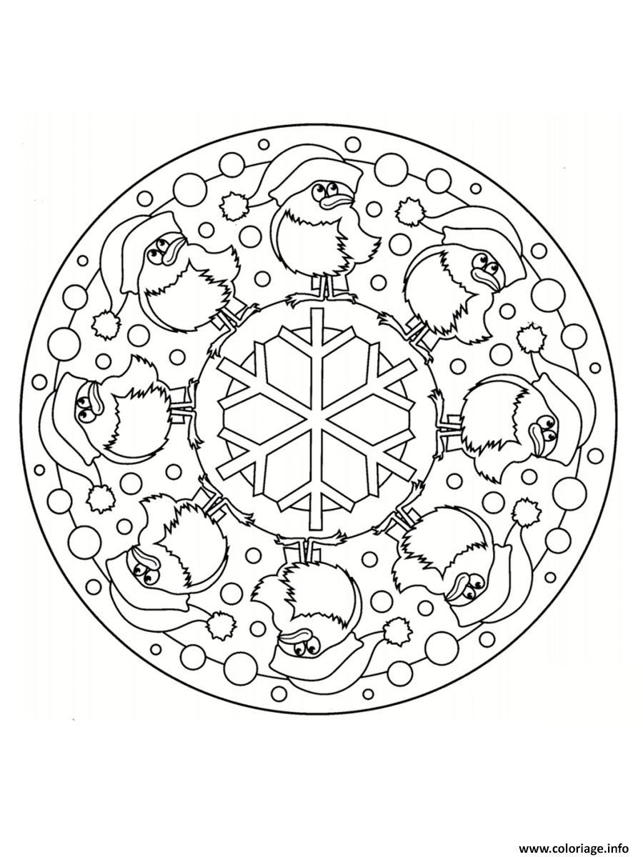 Coloriage De Noel à Imprimer Gratuit Mandala : coloriage mandala pere noel dessin ~ Pogadajmy.info Styles, Décorations et Voitures