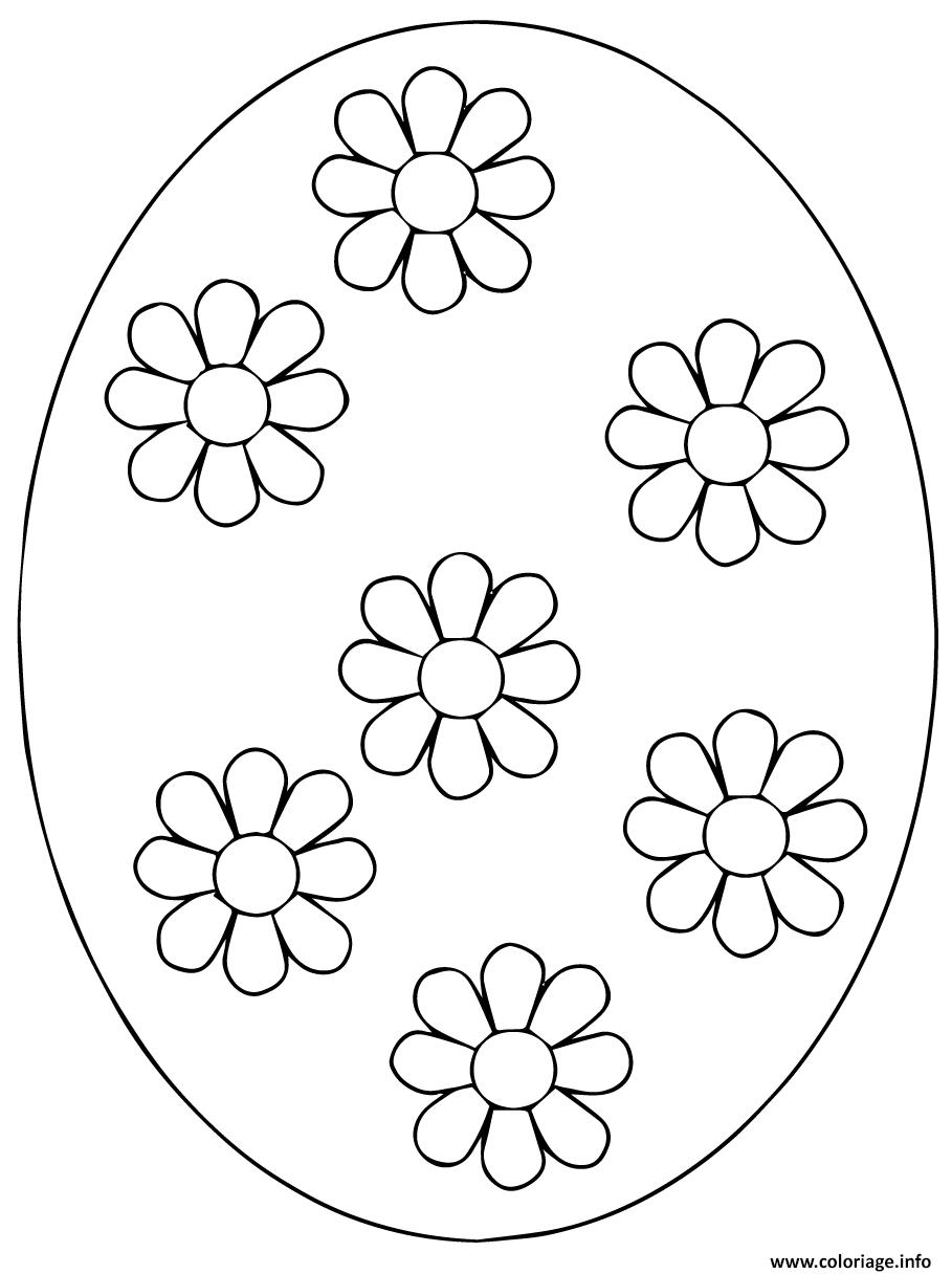 coloriage ukrainian oeuf de paques 4 dessin