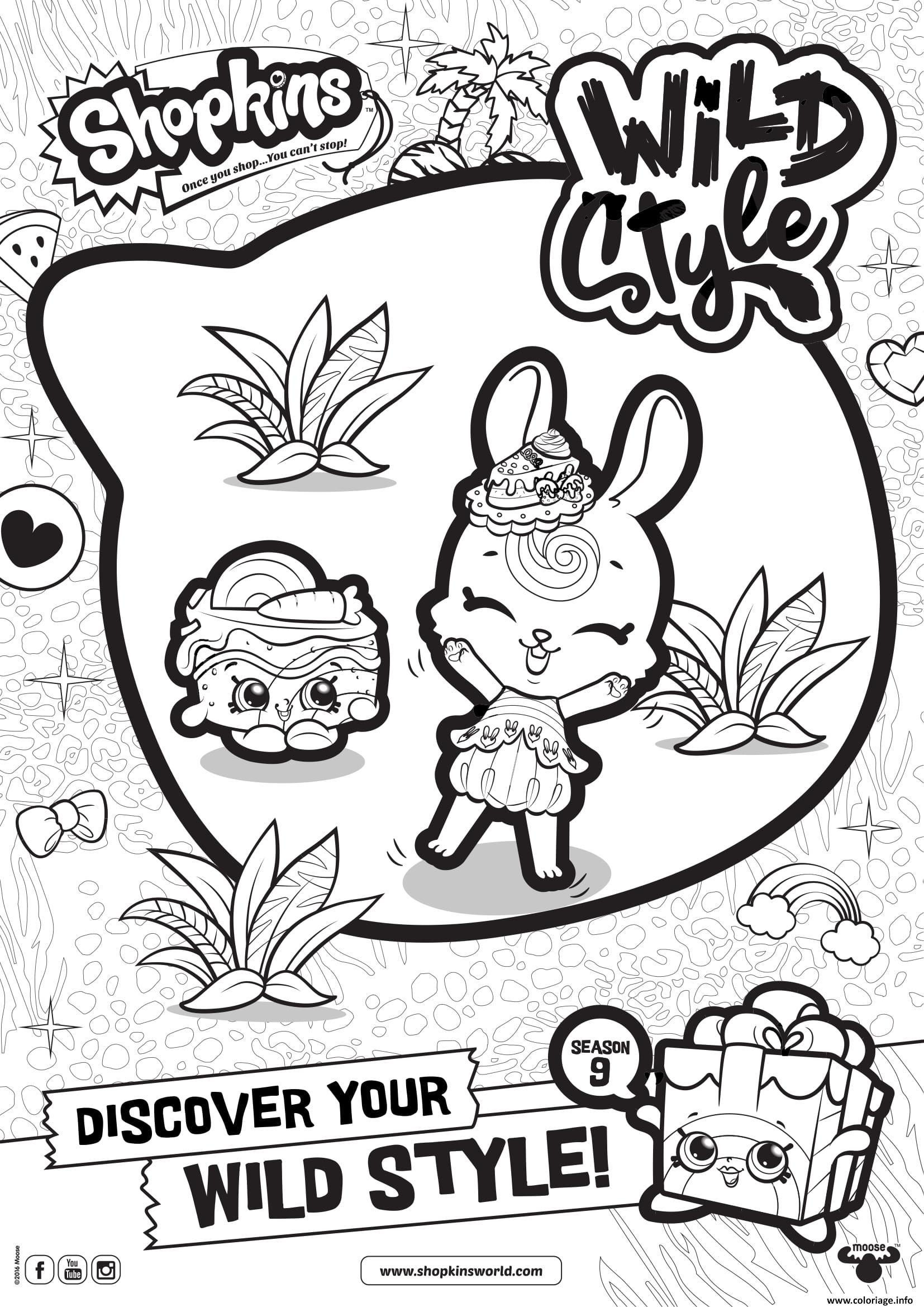Coloriage shopkins saison 9 wild style 4 dessin - Dessine gratuit ...