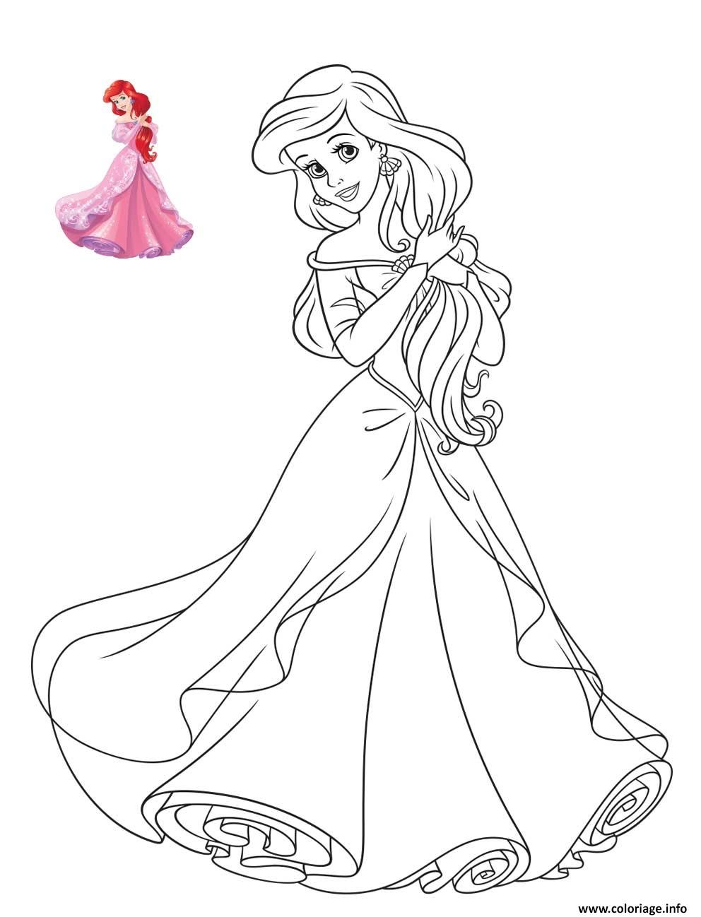 New Coloriage Bebe Princesse Disney Charmant Coloriage Bebe