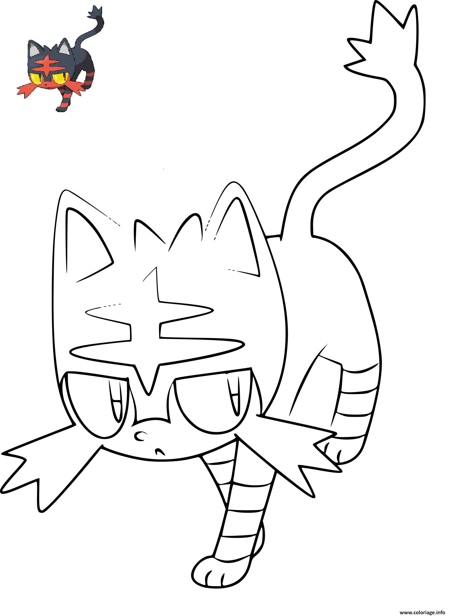 Coloriage pokemon flamiaou dessin - Dessin colorier ...