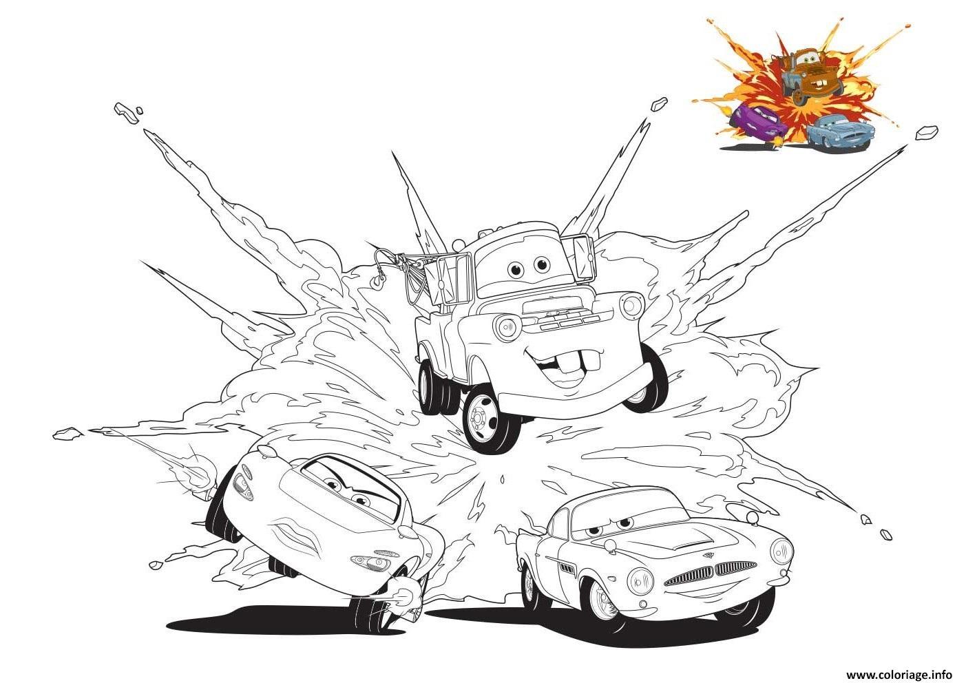 Coloriage Cars 3 Competition Cour Se Rapide Voiture Dessin Cars A Imprimer