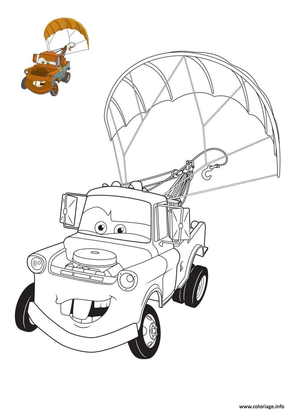 Coloriage film cars 3 martin la depanneuse avec dessin a - Dessin de cars ...