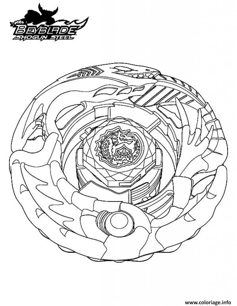 Coloriage beyblade 13 dessin - Coloriage toupie beyblade ...