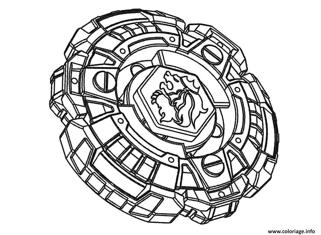 Coloriage beyblade 1 - Coloriage toupie beyblade ...