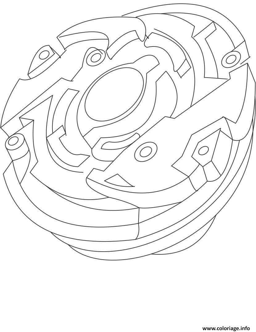Coloriage Beyblade Imprimer.Coloriage Beyblade 14 Jecolorie Com