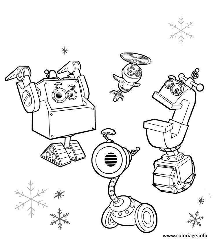 Dessin rusty rivets christmas Coloriage Gratuit à Imprimer