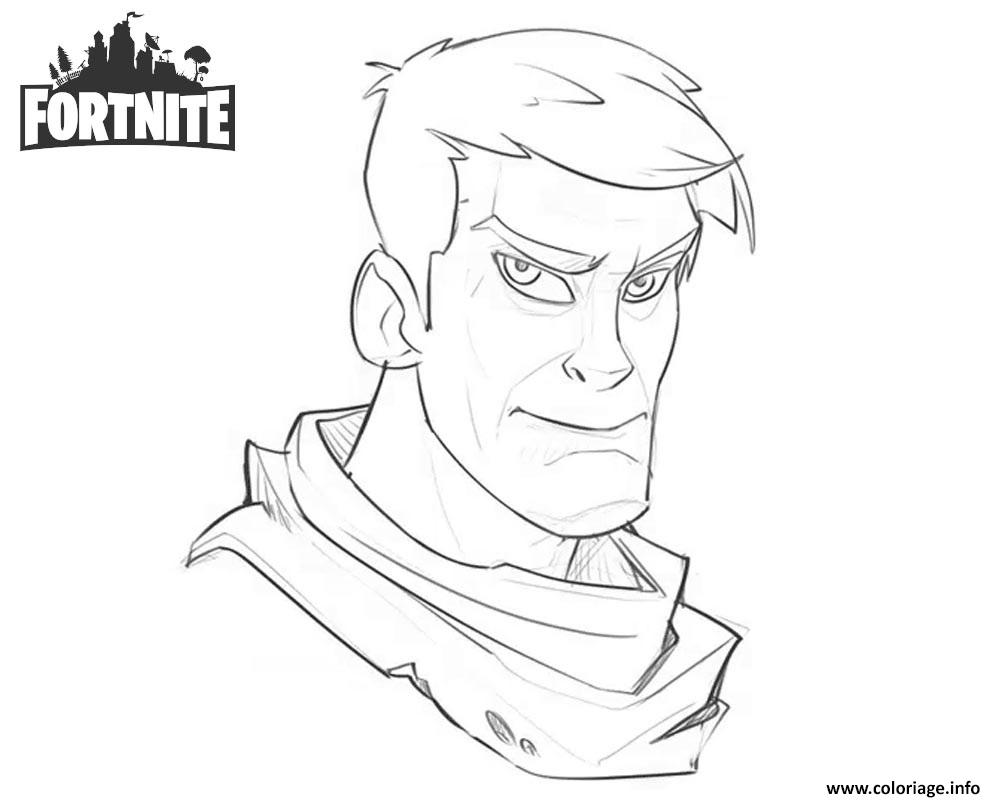 Dessin Fortnite Character Warmup Art Work by Josh Bruce on Artstation Coloriage Gratuit à Imprimer