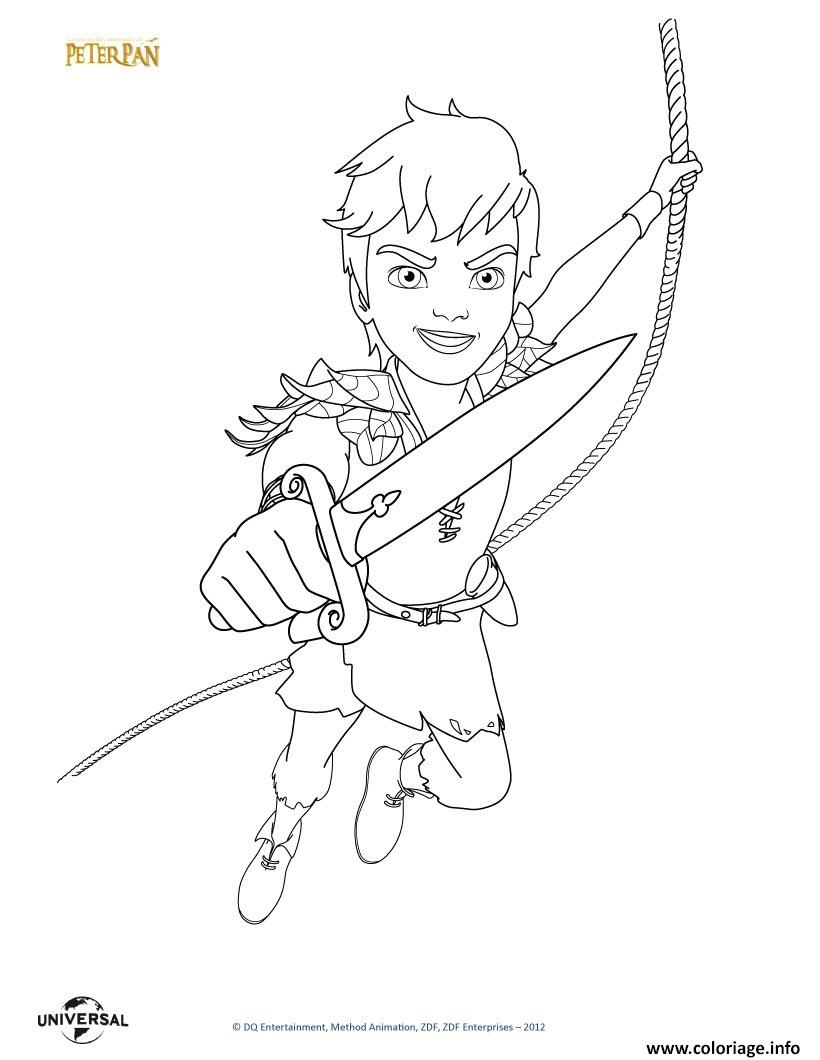 Coloriage peterpan le film - Coloriages peter pan ...