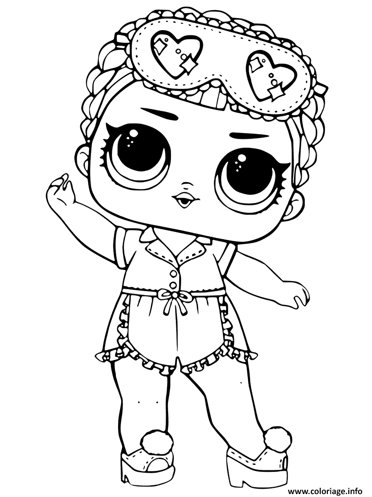 Coloriage lol dolls dessin - Coloriage prin ...