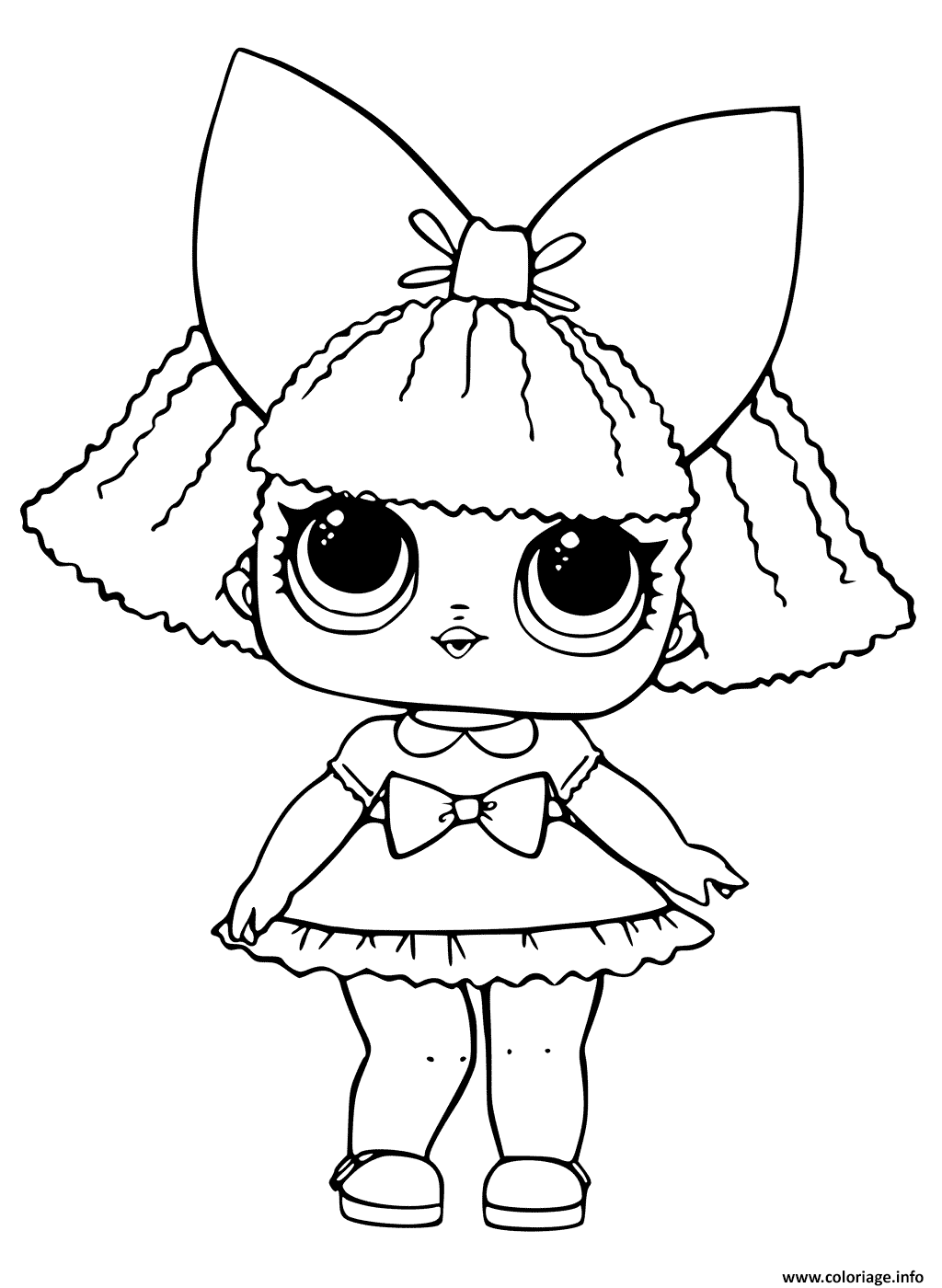 Coloriage lol doll printable dessin - Dessins a colorier gratuit ...