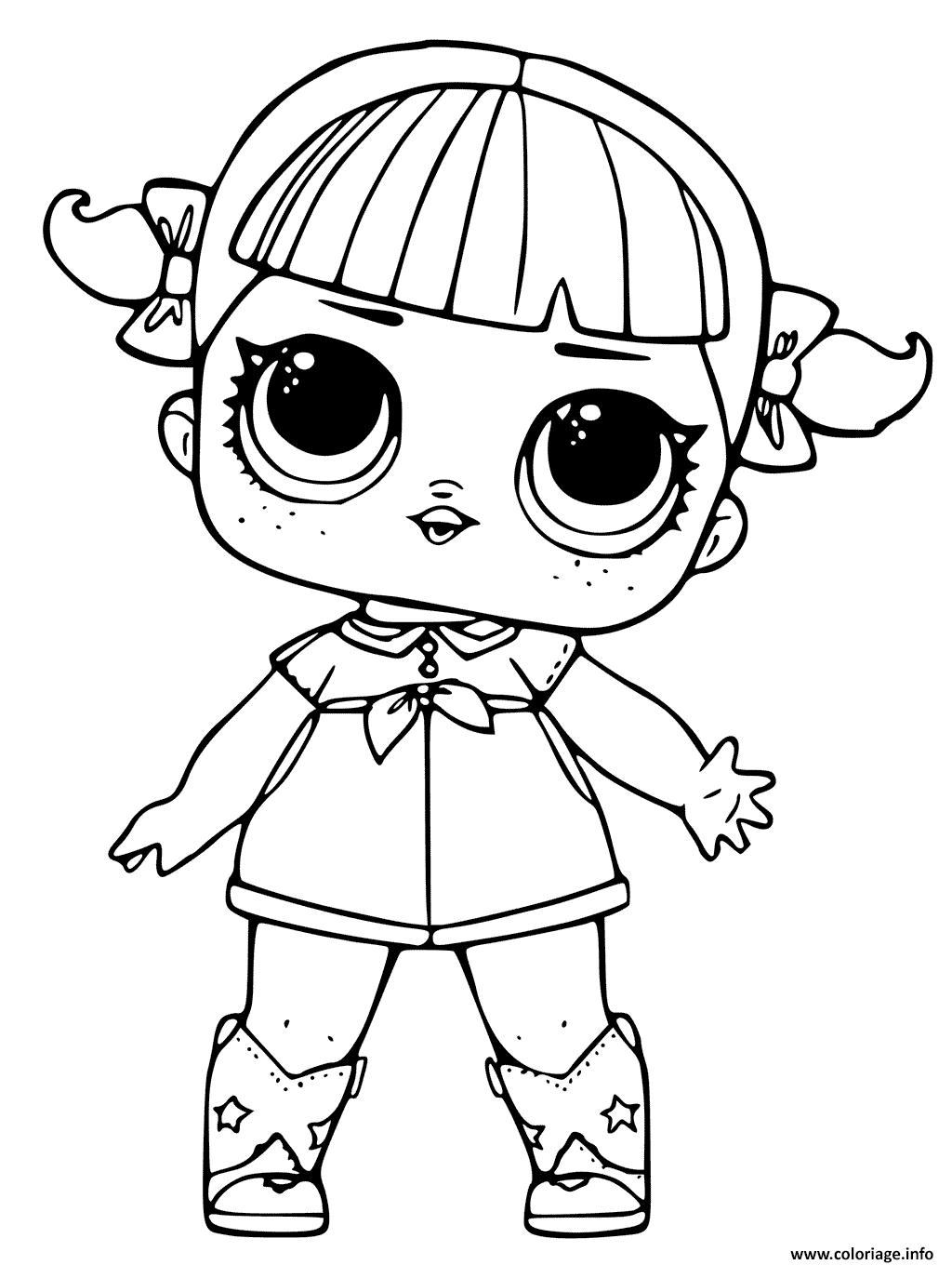 Coloriage Lol Surprise Dolls Jecolorie Com