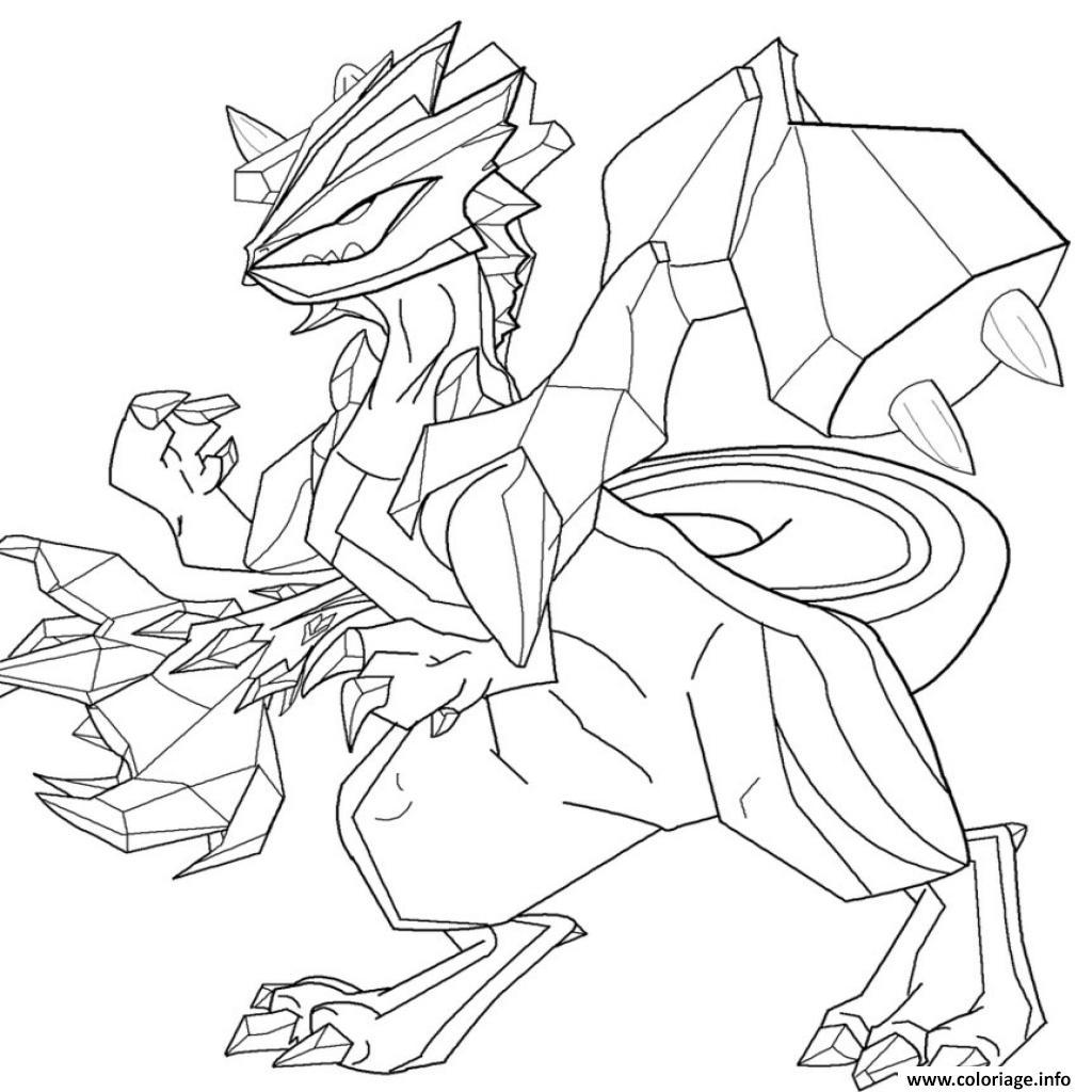 Coloriage Pokemon Legendaire Zekrom Jecolorie Com