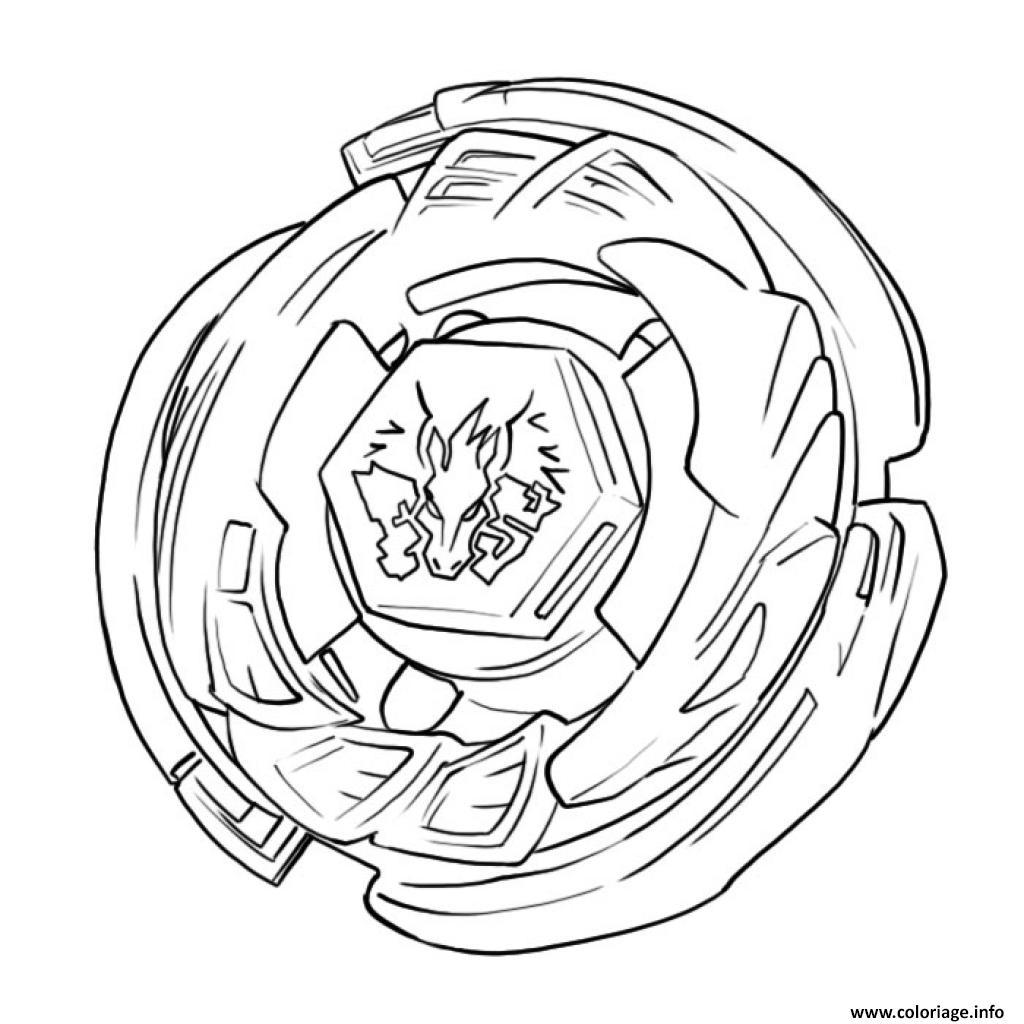Dessin beyblade burst evolution coloriage gratuit à imprimer