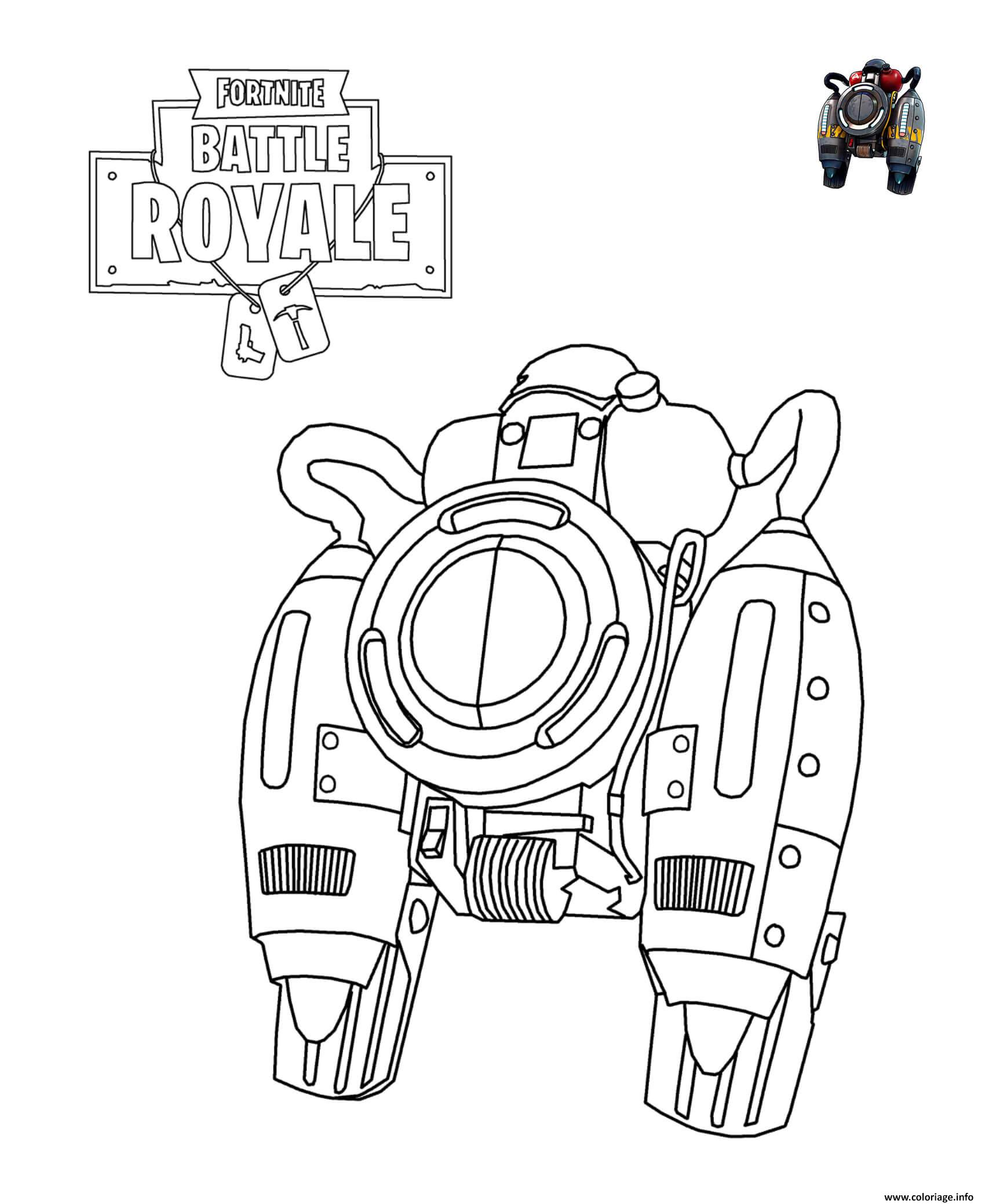 Coloriage Fortnite Arme Coloriage Magique Addition