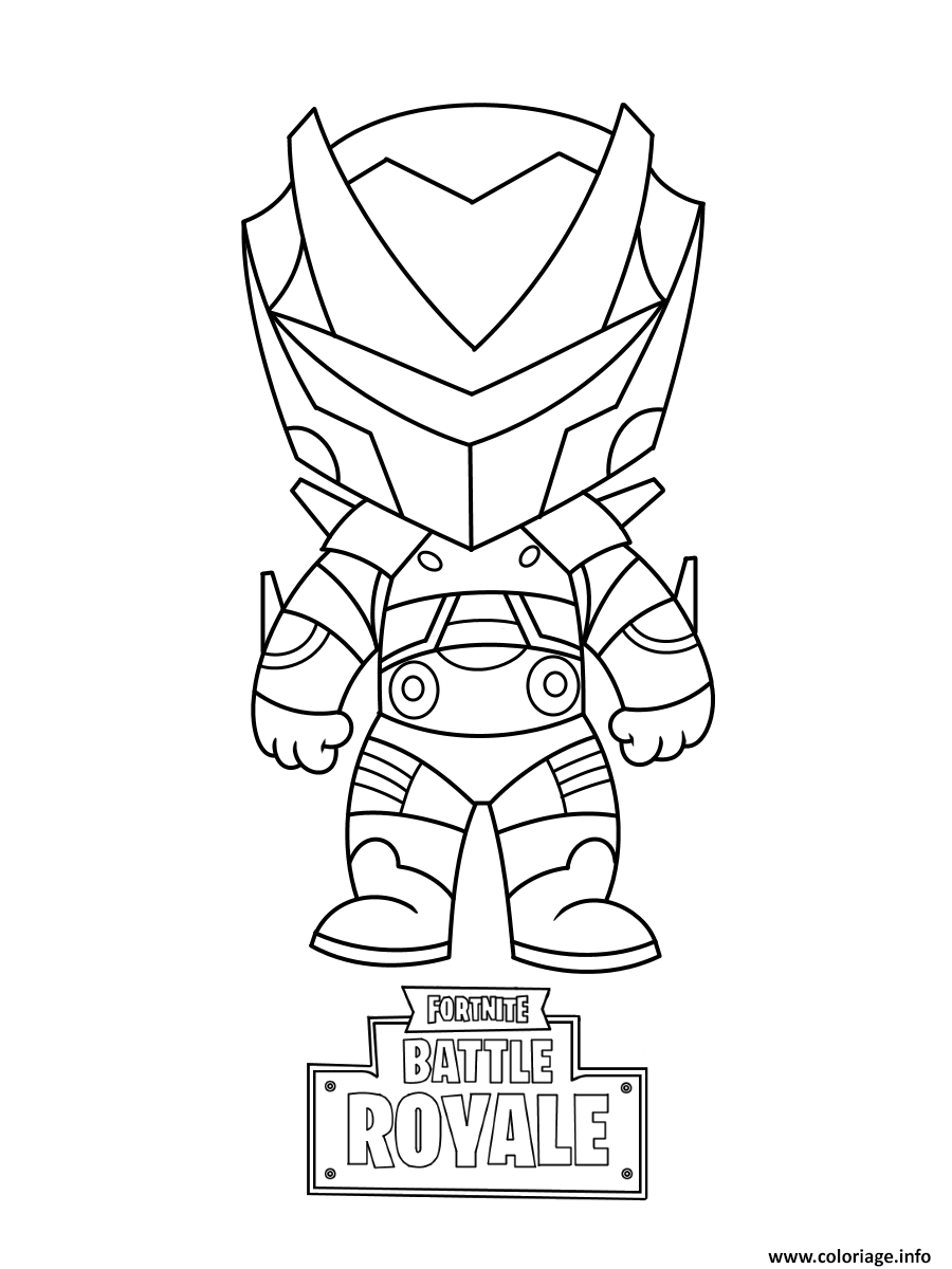 Coloriage Mini Omega Fortnite Dessin