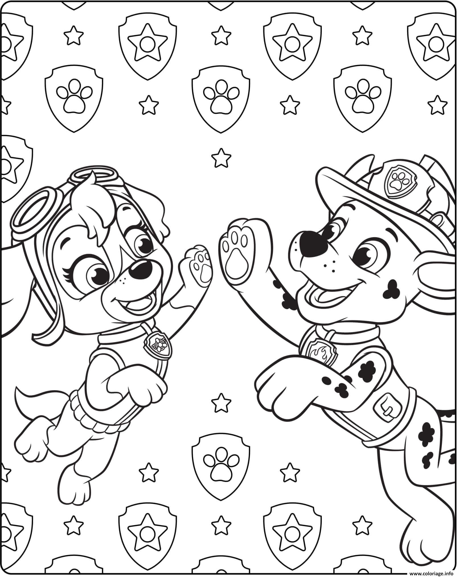 Coloriage Paw Patrol Ultimate Rescue 3 Jecoloriecom