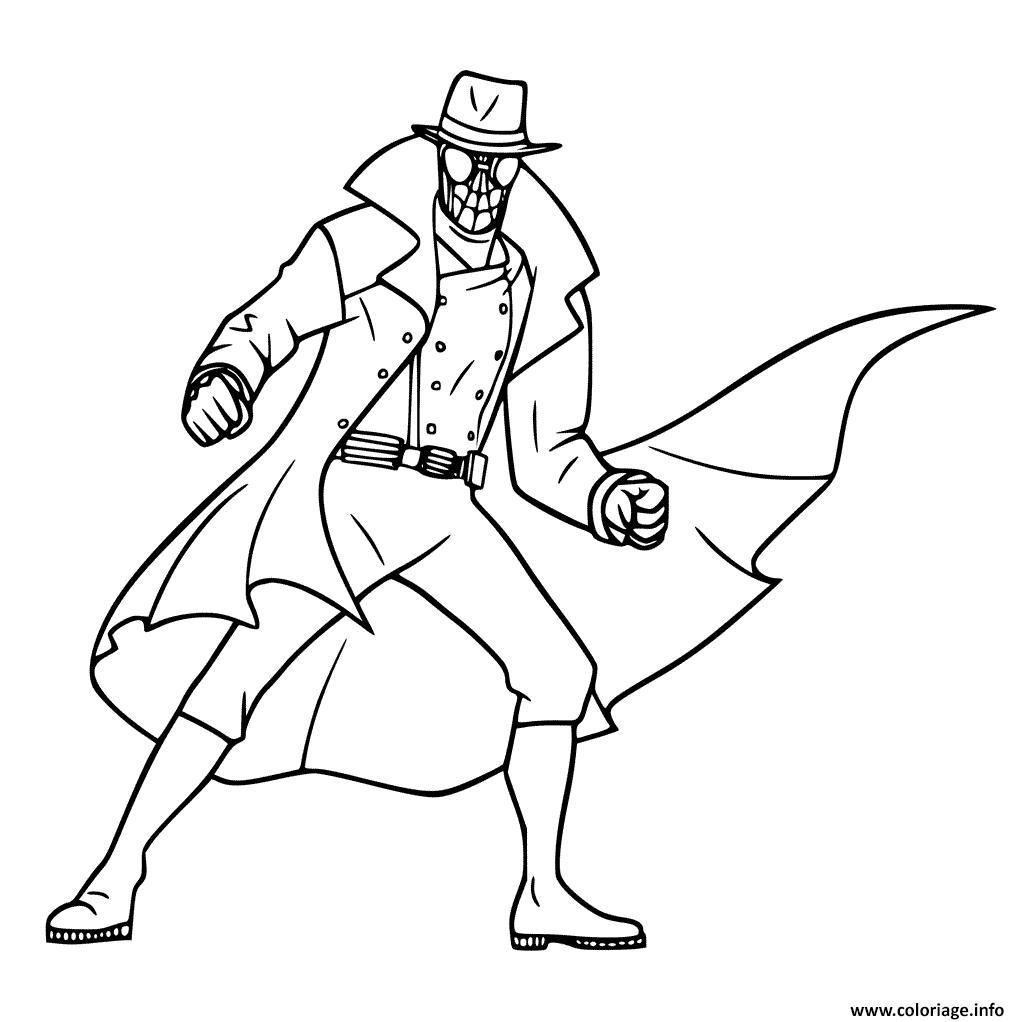 Coloriage spider man noir dessin - Coloriage spiderman black ...