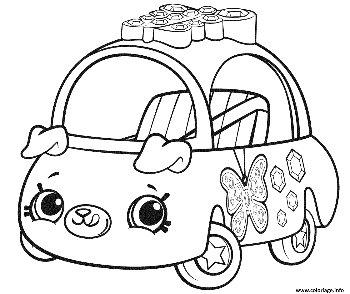 Dessin Cutie Cars Season 1 Coloriage Gratuit à Imprimer