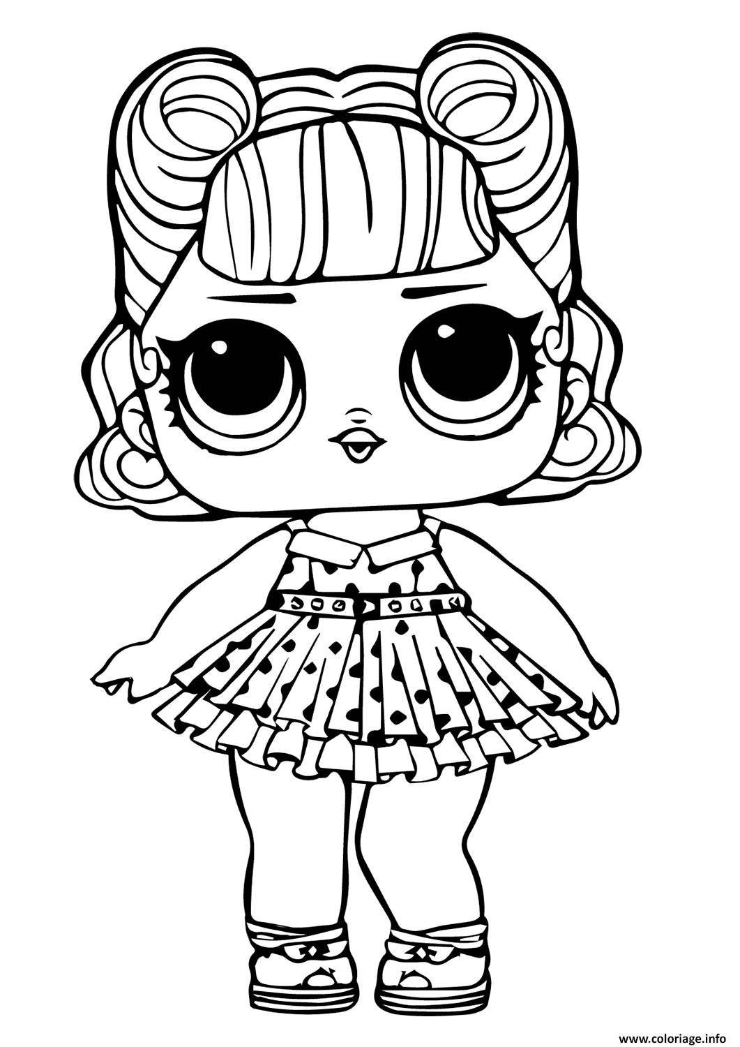 Coloriage lol doll jitterbug - JeColorie.com